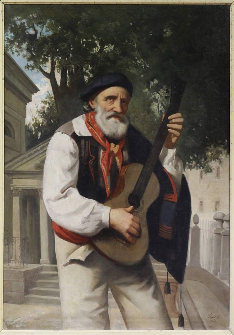 Retrato de José María Iparragirre