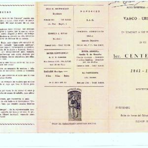 Euskal-Erria - 1961 - Acto artístico cultural Vasco - Uruguayo en homena.pdf