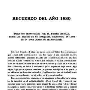 Herrán - 1908 - Recuerdo del año 1880  discurso pr.pdf