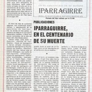 Peña Santiago - 1982 - Iparraguirre, en el Centenario de su muerte. Publi.pdf