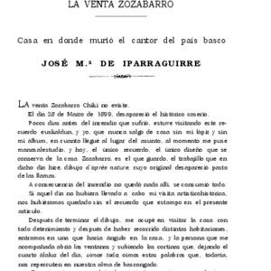 López Alén - 1909 - La venta de Zozabarro  casa en.pdf