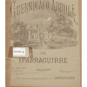 Santesteban Arizmendi - Guernicaco arbola [Música impresa]  por Iparragui.pdf