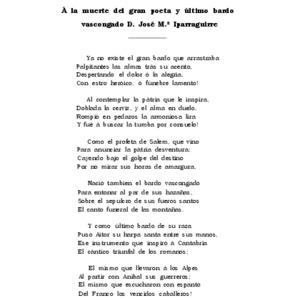 Araquistain - 1881 - A la muerte del gran poeta y .pdf