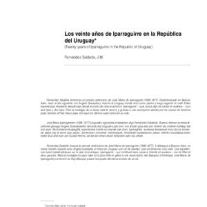 Fernández Saldaña - 1948 - Los veinte años de Iparraguirre en la República de.pdf