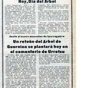 Urcelay - 1981 - Un retoño del Arbol de Guernica se plantará hoy en.pdf