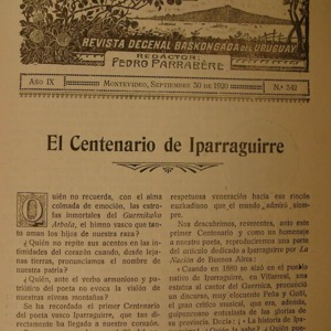 Parrabere - 1920 - El centenario de Iparraguirre  [Pedro Parrabere].pdf