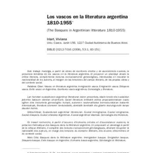 Iriart - 2008 - Los vascos en la literatura argentina 1810-1955.pdf