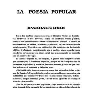 Romero - 1905 - La Poesía popular. Iparraguirre  [.pdf