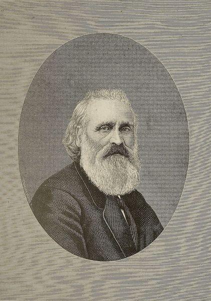 Retrato de Iparragirre, sacado de una fotografía